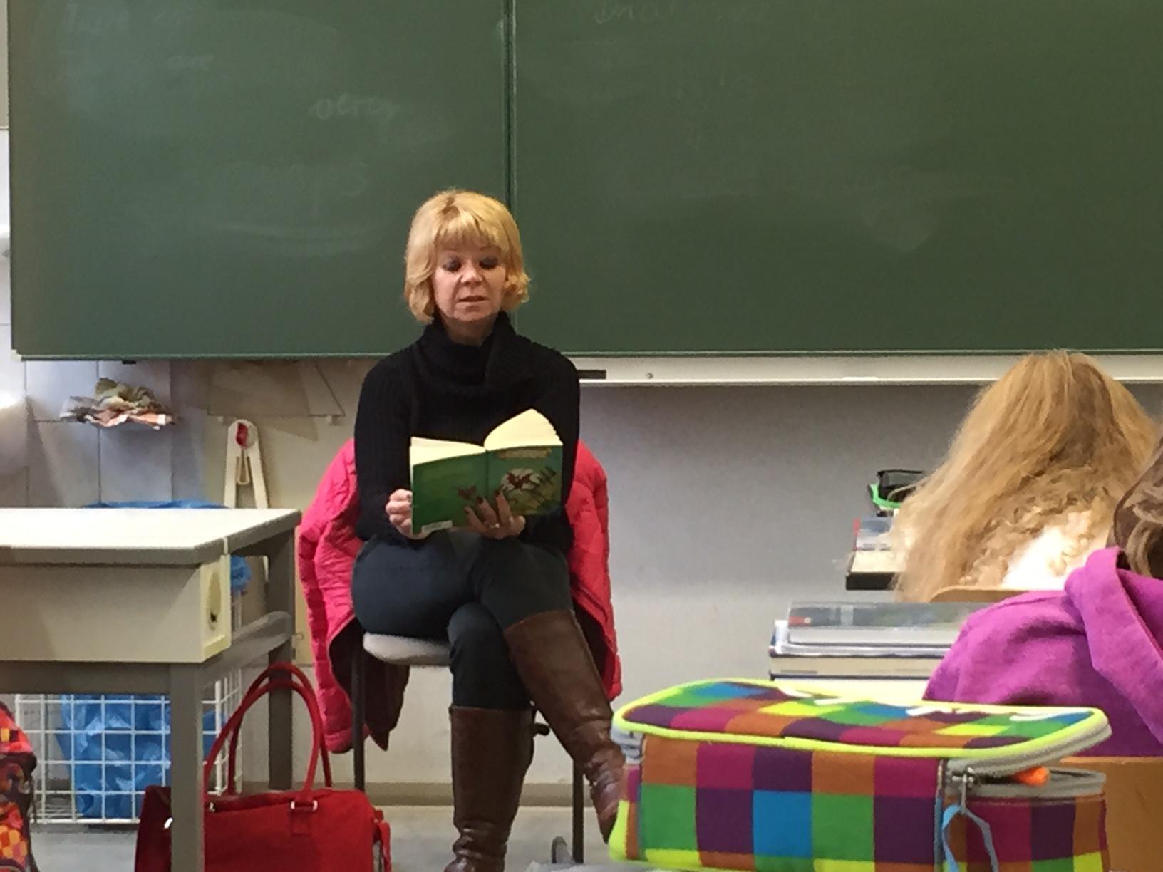 Vorlesetag in Zerbst | Cornelia Lüddemann
