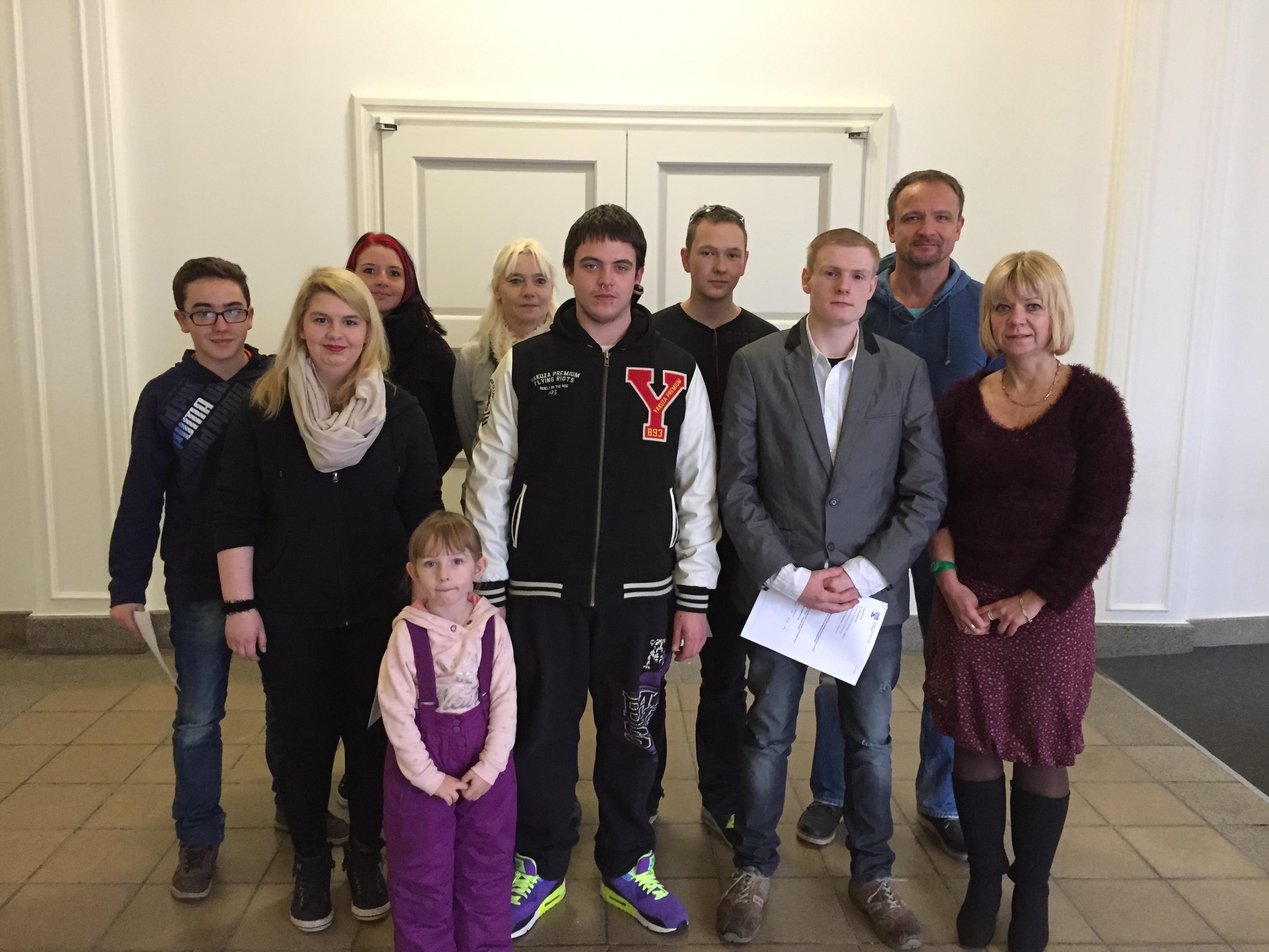 Jugendliche besuchten die Landeshauptstadt | Cornelia Lüddemann